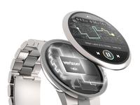 Smartwatch Fitness + Music UI