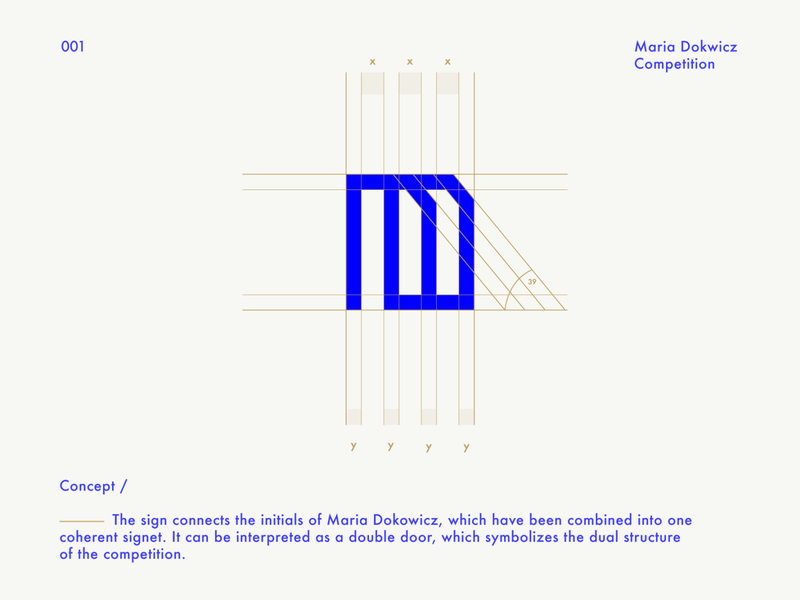 Maria Dokowicz logo / Logofolio