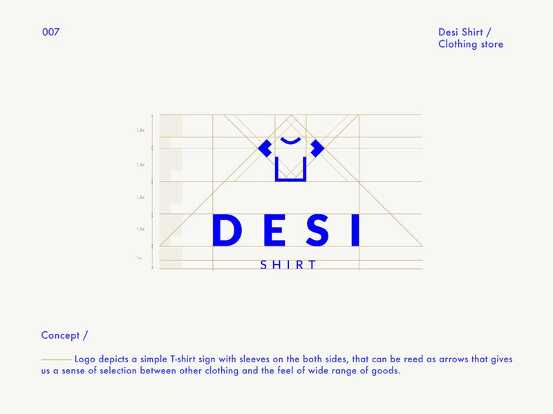 Desi Shirt Logo / Logofolio