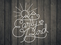 Early Bird Script Type
