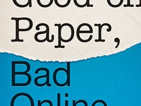 Good On Paper, Bad Online Ebook Cover