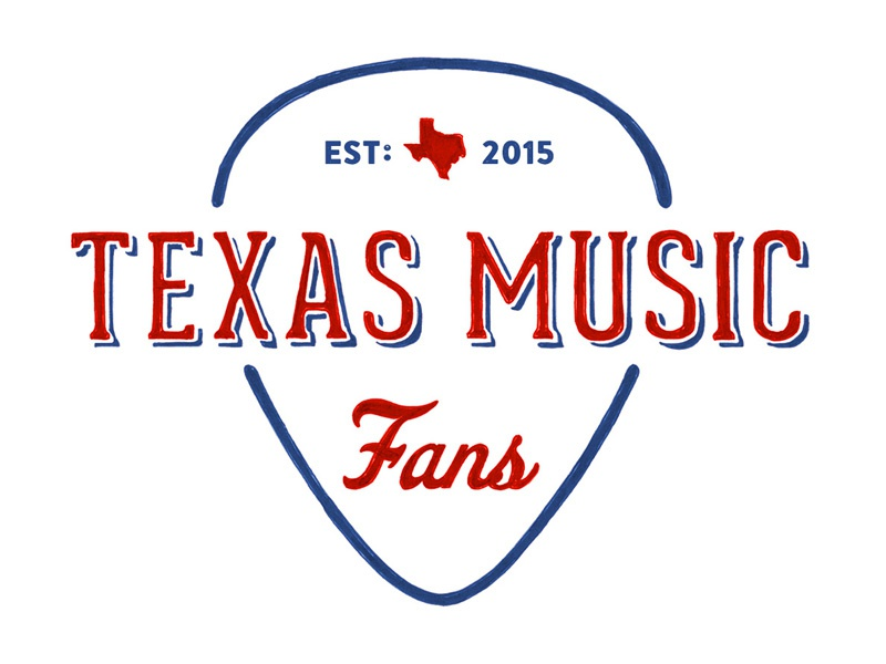 Texas Music Fans Logo Final Badge Hand Drawn State Est 2017 Country Guitar Pick Tex Usa