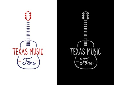 Texas Music Fans Shirt / Koozie Design