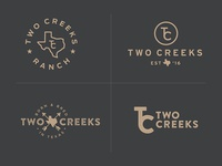 Two Creeks Ranch Logo Rd 1