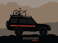 Discovery Series II with Bike