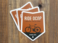 Stickers for Oak Cliff Nature Preserve MTB Trail