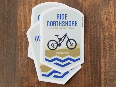 Stickers for Northshore MTB Trail