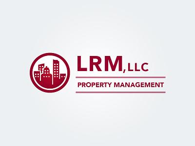 LRM Property Management Logo logo design real estate vector illustrator photoshop