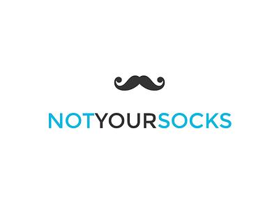 Not Your Socks - WIP logo flat design branding fashion