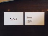 Prerak Patel - Business Cards