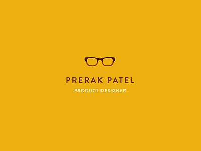 Prerak Patel - Branding new york designer glasses branding