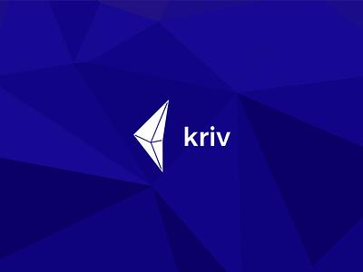 Kriv - Crypto/Fiat Currency Converter currency illustrator sketch ui app mobile logo brand