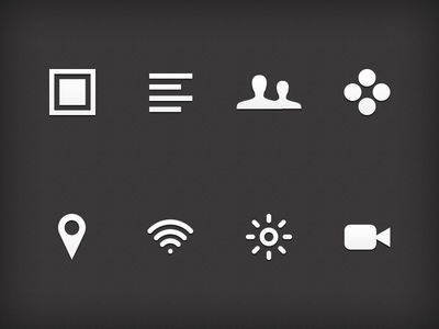 Some icons for a client project icons design ui interface web mobile