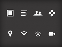 Some icons for a client project