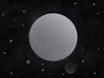 Planet Rain planets constellations wallpaper