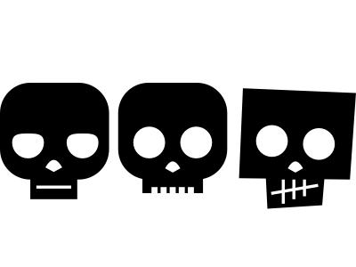 skulls logos sketch skulls