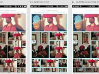 Image app screen concepts