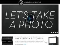 Lensley homepage