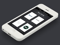 Bitcard Wallet iOS Interface