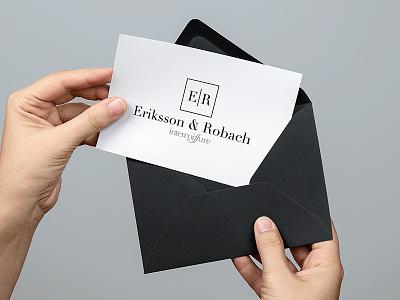 Eriksson & Robach Logotype branding logotype