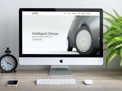Uniti Website website