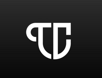 """""""TC"""" Letter Logo Concept"""