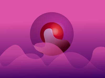 Purple Orb Illustration