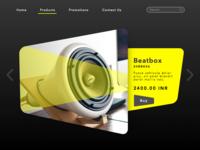 ecommerce web concept