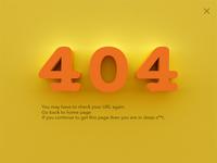 404 error page #dailyui #008