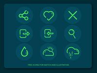 Free Icons Illustration