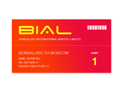Dailyui 23 Boarding Pass freebies uidesign travel airport trendy print creative orange card pass boarding