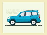 Mahindra Scorpio  Illustration