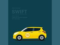Maruti Suzuki Swift Illustration