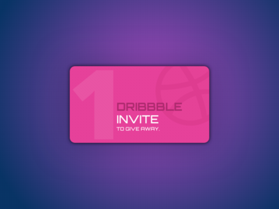 One 'Dribbble Invite' to giveaway :) freebie sketch app google icon india illustrations material design clean creative invite
