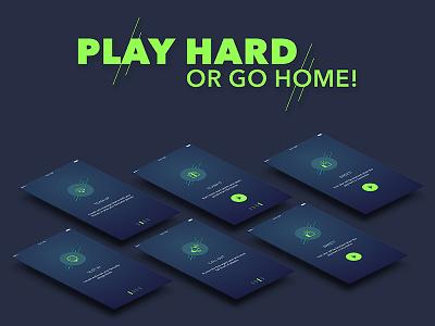 Sports Management App uikit freebie mockups iphone sports material ios google minimal creative design android