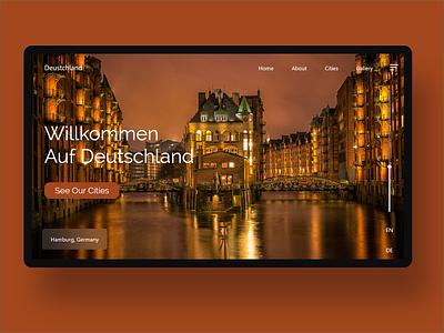 Daily UI 118 adobexd travel website ui design uidesign uxdesign uiux xd flat landingpage web ui design