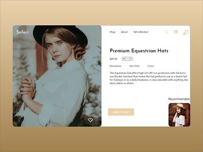 Daily UI 130 fashion brand fashion uiux concept minimal website xd flat landingpage web ui design