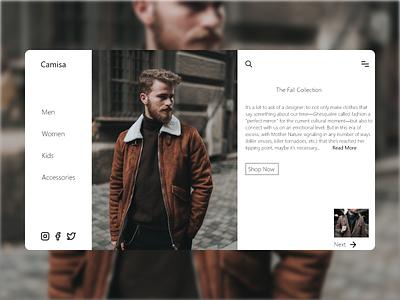 Daily UI 143 uiuxdesign uxui fashion minimalist minimal ux uidesign uxdesign uiux website xd flat landingpage web ui design