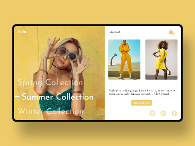 Daily UI 150 uxui fashion fashion app uxdesign uiux minimal website xd flat landingpage web ui design