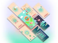 "Game ""Dancing Flamingo"" for iOS"