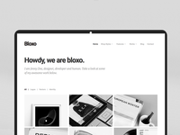 Bloxo HTML and WP Agency Theme