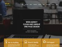 Atlas - HTML5 Responsive Theme Free