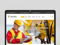 Construction Builder  - HTML, WordPress Design