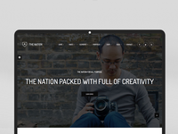 Nation - HTML and WordPress design