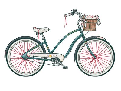 Electra Cruiser for Women bicycle electra cruiser illustration wzwz