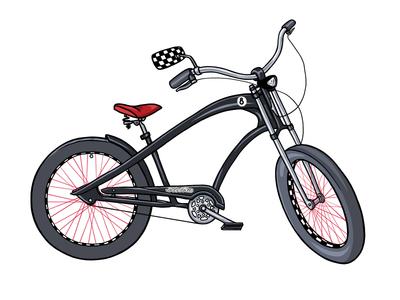 Electra Cruiser for Men bicycle electra cruiser illustration wzwz
