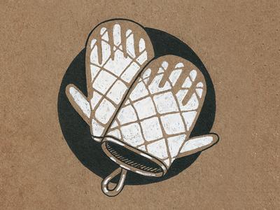 #26 - One Dozen hand kitchen sevsve ink inktober
