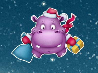 Hippo dribble