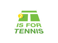 T is for Tennis Logo