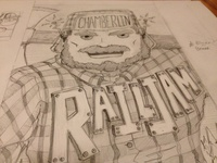 Rail Jam Sketch 1